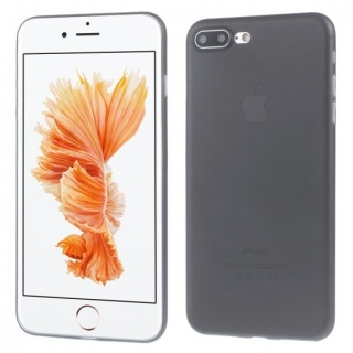 Ultratenký 0.3 mm matný kryt na Apple iPhone 8 Plus / 7 Plus - černý